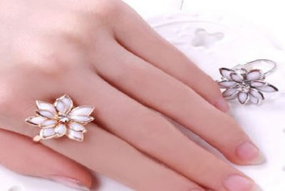 Lotus Adjustable Ring