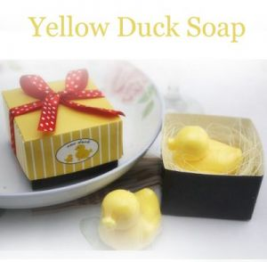 Duck soap favor