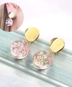 Real Flower Earrings