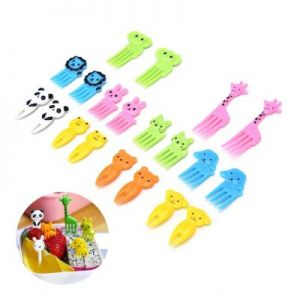 Animal Fruit Forks