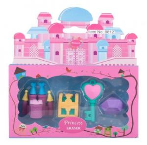 Princess Eraser Set