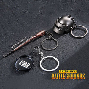 PUBG Collectibles- Set of 3 Keychains Gift Box - Quirky Gifts to ... 1216fc4025