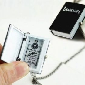 Death Note Watch Necklace