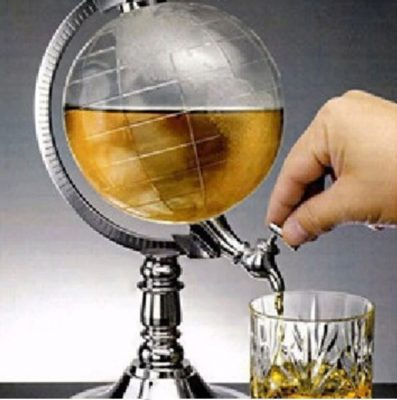 Globe Wine Dispenser