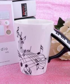 Piano Mug - Music Lovers Mug