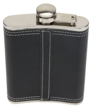 JD Hip Flask Red