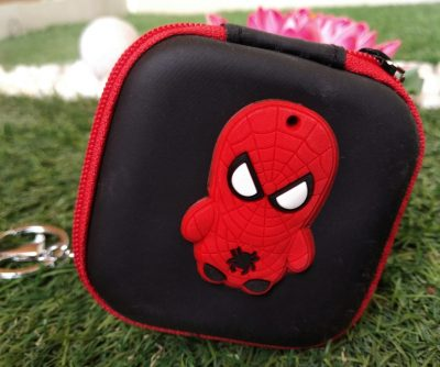 Spiderman Pouch Keychain