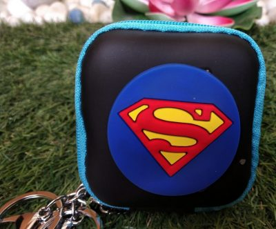 Superman Pouch Keychain