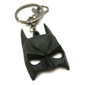 batman face mask keychain