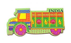 India Quirky Collection - Public Carrier Magnet