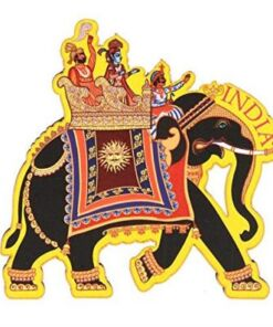 India Quirky Collection - Elephant Ride Magnet
