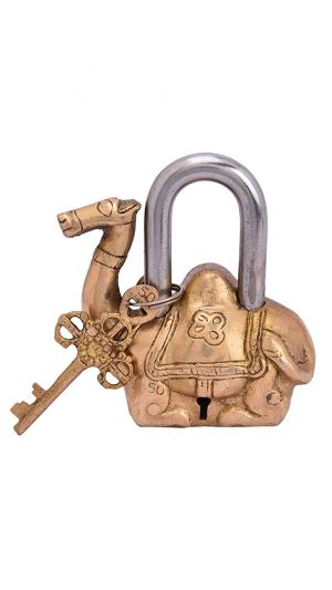Antique Brass Camel Lock
