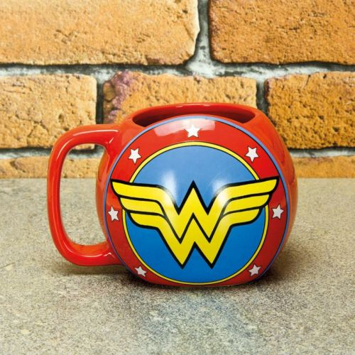 Wonder Woman Shield Mug