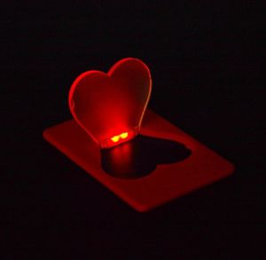 Heart LED Lamp