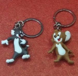 Tom & Jerry Keychain Set