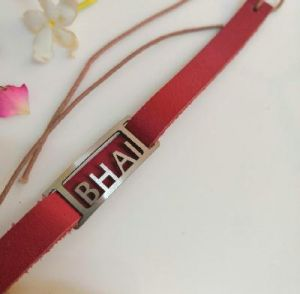 bhai leather rakhi
