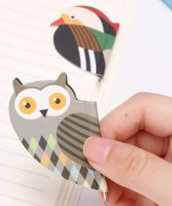 Bird - Magnetic Bookmark with Pen