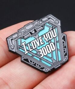 I Love U 3000 Brooch