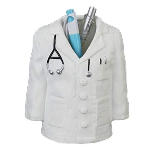 Doctor Gift - White Coat Pen Stand