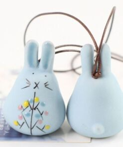 Ceramic Wind Chime - Easter Gift