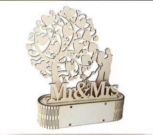 MDF Family Love Lamp