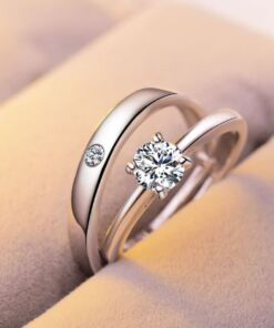 Couple Love Band - Adjustable Rings