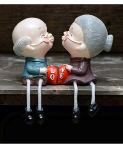 Dadu Dadi Figurine - Timeless Love