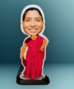 Caricature Standee - Indian Mommy