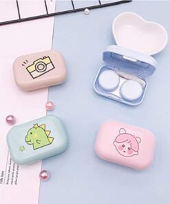 Cartoon Contact Lens Storage Kit