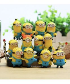 Minion Cake Toppers - Set of 12 Figurines