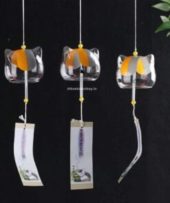 Cat Wind Chime - Japanese Style Glass Chime