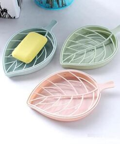 Leaf Soap Dish - Double Layer Soap Holder